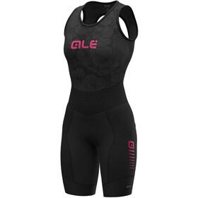Alé Cycling R-EV1 Future Integrato Bib Shorts Women black/fluo pink
